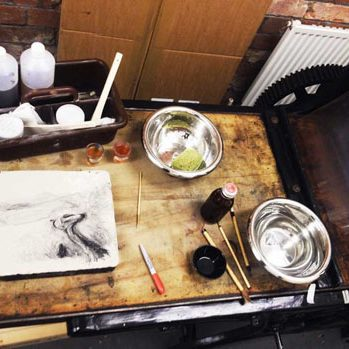 Stone Tree Press: bringing lithography back to life in Leeds