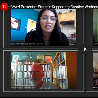 Supporting Creative Workspaces Webinar