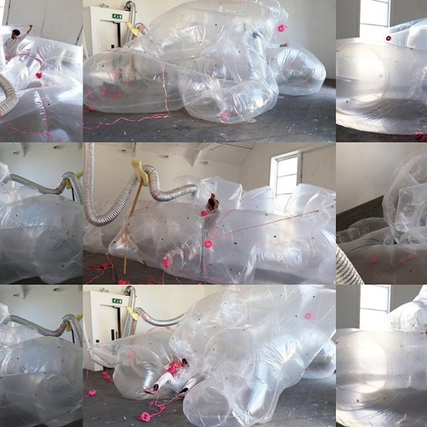 Past show: Inflated Space by James Thompson @ Patrick Studios
