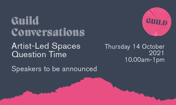 Artist-Led Spaces : Question Time