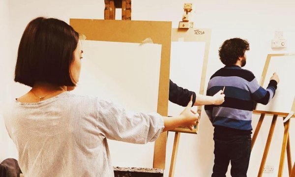 Life Drawing in Leeds with Tessa Houghton